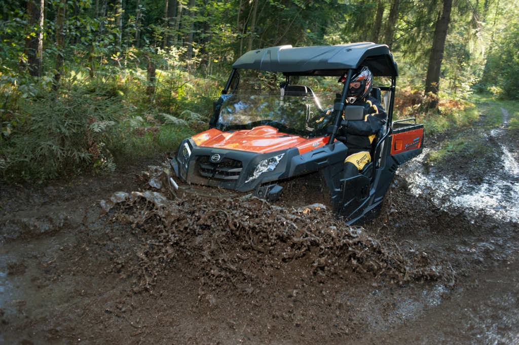 Подготовка квадроцикла для езды по грязи