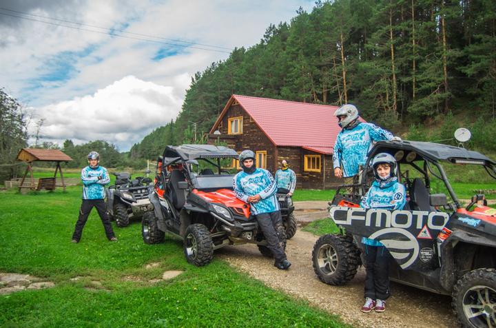 Путешествие команды CFMOTO Club в Перми фото1