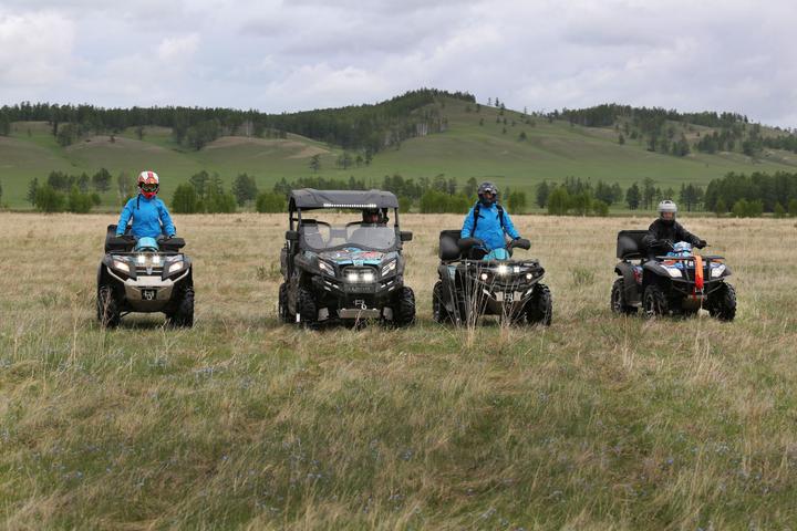 Путешествие на квадроциклах CFMOTO по Хакасии фото-3