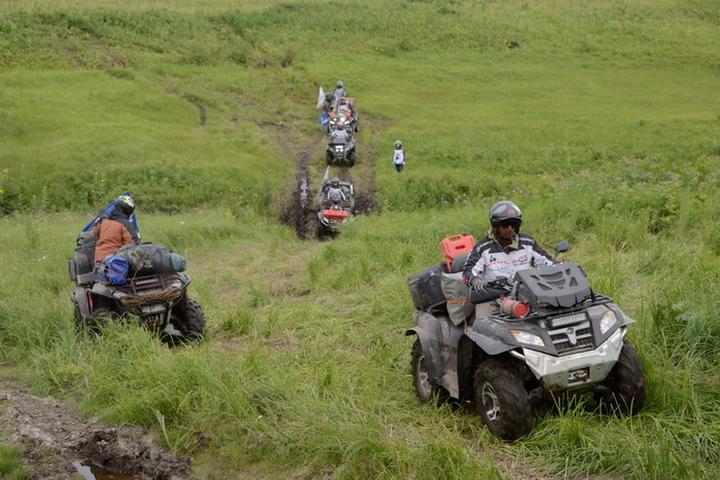 Путешествия на квадроциклах Камчатка фото13