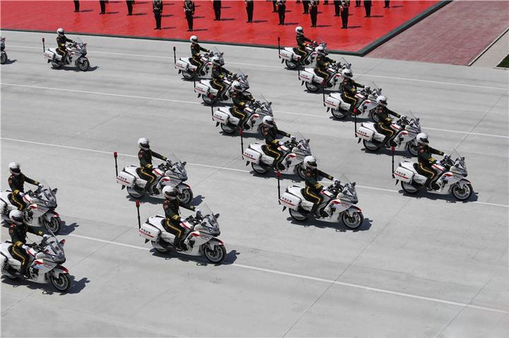 Военный парад в Пикине
