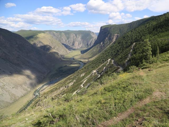 Долина реки Челышман с Вне зоны 1